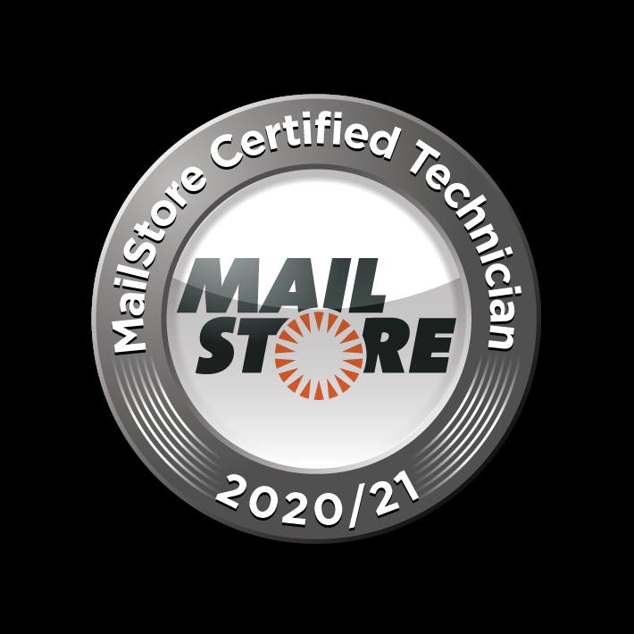 Mailstore Certified Technican 2020/21